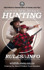 new mexico 2015-16 hunting rules and informaiton