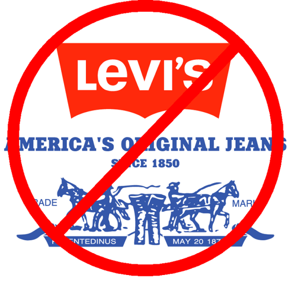 Support an international boycott of Levis