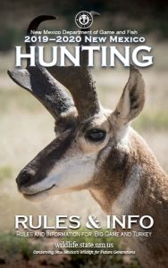 2019-20 New Mexico Hunting Rules & Info
