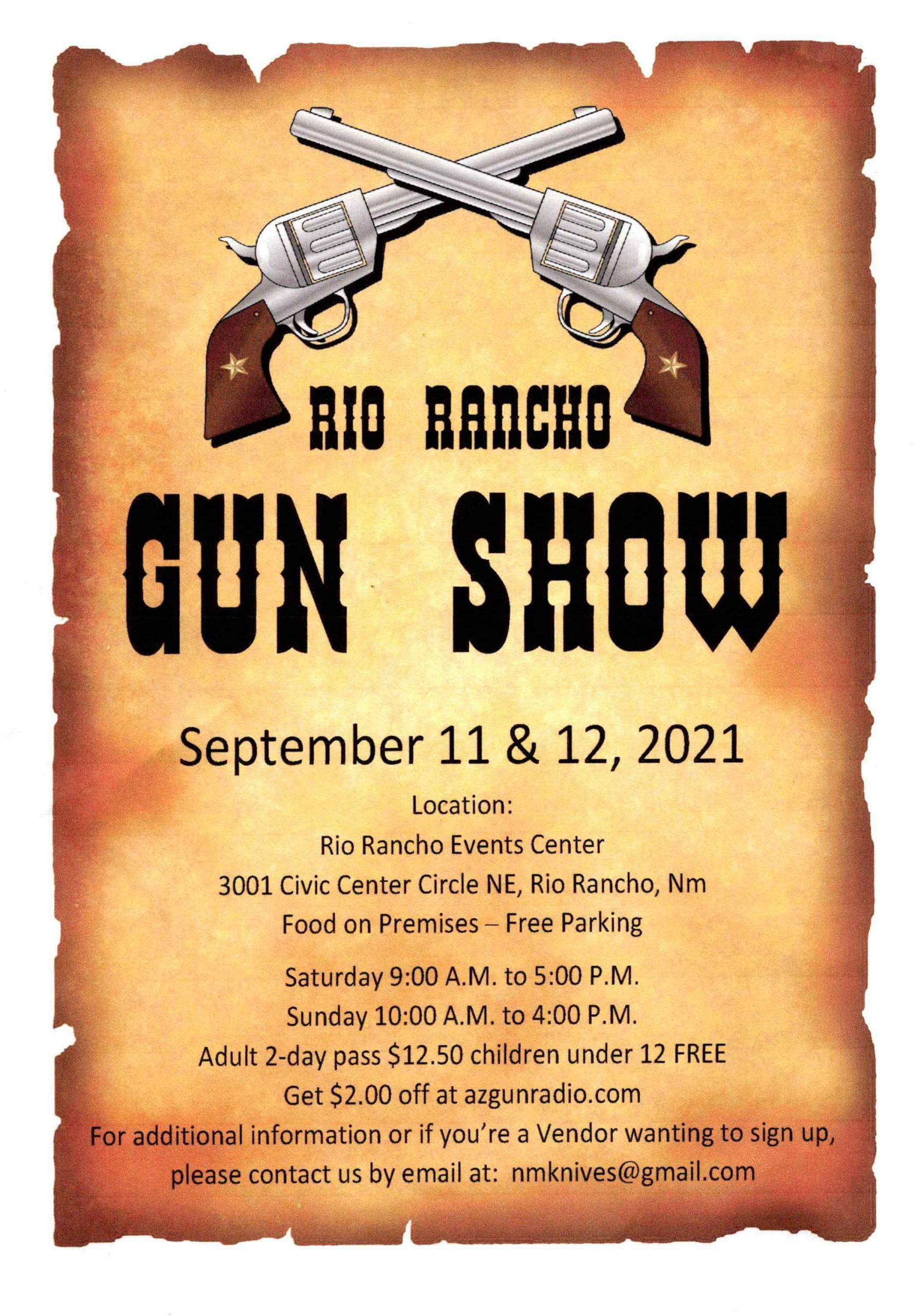 rio rancho gun show